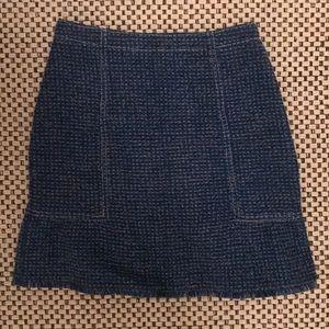 Sandro tweed skirt